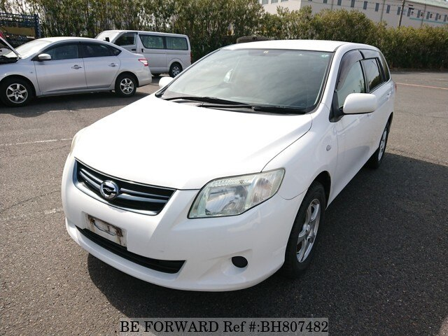 Used 2010 TOYOTA COROLLA FIELDER BH807482 for Sale