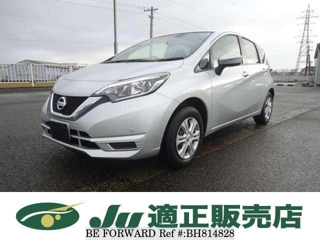 Used 2020 NISSAN NOTE BH814828 for Sale