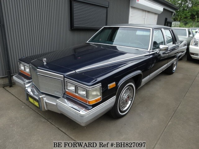Used 1991 CADILLAC FLEETWOOD BH827097 for Sale