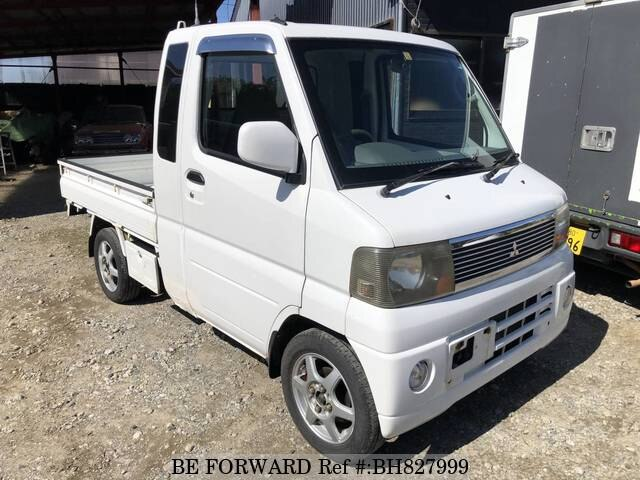 Used 2004 MITSUBISHI MINICAB TRUCK BH827999 for Sale