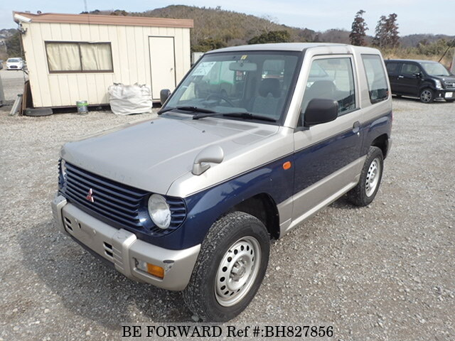 Used 1998 MITSUBISHI PAJERO MINI BH827856 for Sale