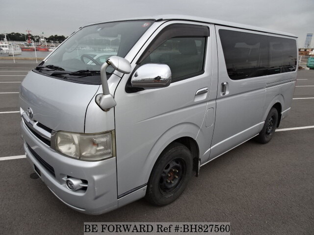 Used 2005 TOYOTA REGIUSACE VAN BH827560 for Sale