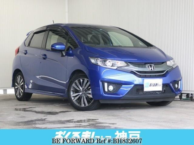 Used 2014 HONDA FIT HYBRID BH832607 for Sale