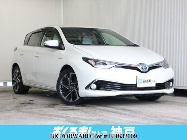 Used 2016 TOYOTA AURIS BH832609 for Sale