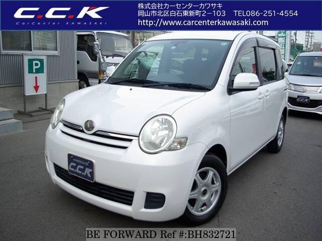 Used 2008 TOYOTA SIENTA BH832721 for Sale