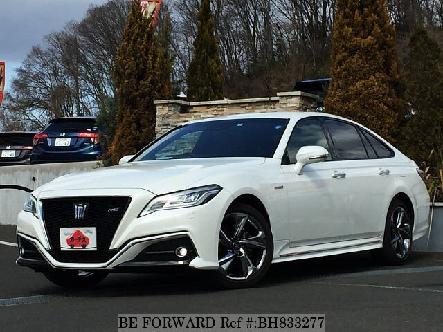 Used 2018 TOYOTA CROWN HYBRID BH833277 for Sale