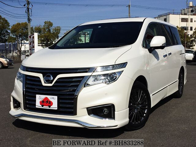 Used 2019 NISSAN ELGRAND BH833288 for Sale
