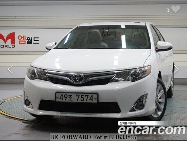 Used 2013 TOYOTA CAMRY BH833837 for Sale