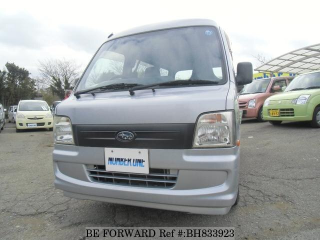 Used 2006 SUBARU SAMBAR BH833923 for Sale