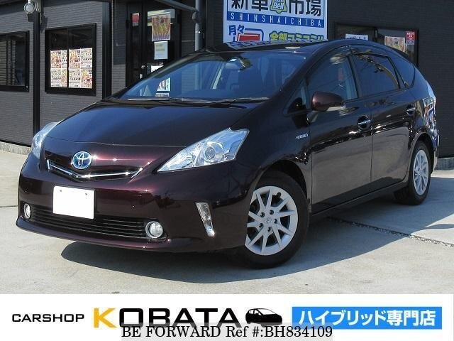 Used 2013 TOYOTA PRIUS ALPHA BH834109 for Sale