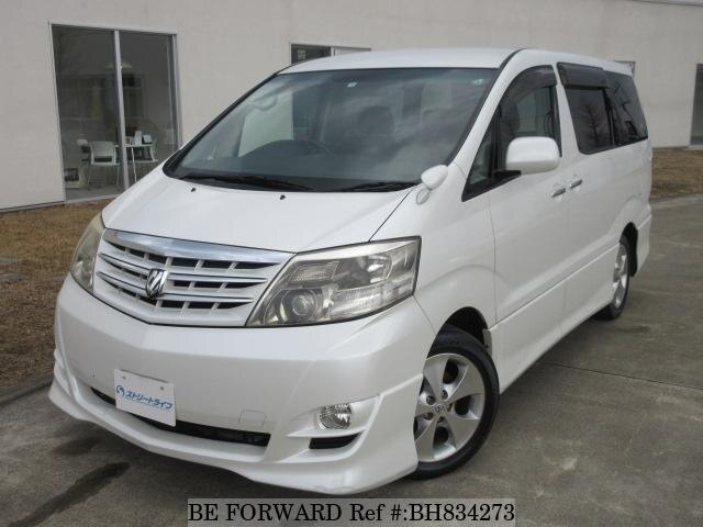 Used 2008 TOYOTA ALPHARD BH834273 for Sale