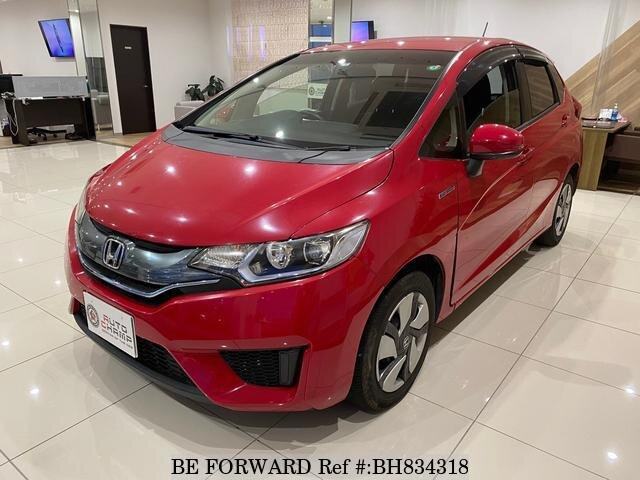 Used 2014 HONDA FIT HYBRID BH834318 for Sale