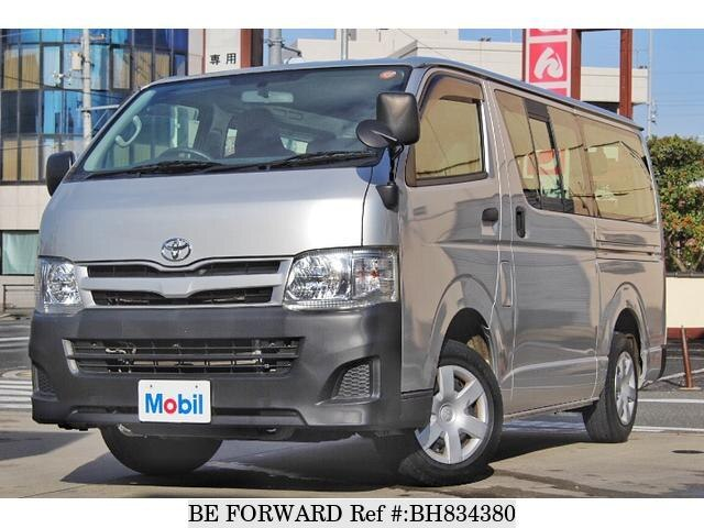 Used 2013 TOYOTA HIACE VAN BH834380 for Sale