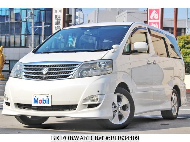 Used 2005 TOYOTA ALPHARD BH834409 for Sale