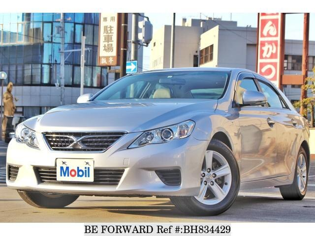 Used 2010 TOYOTA MARK X BH834429 for Sale