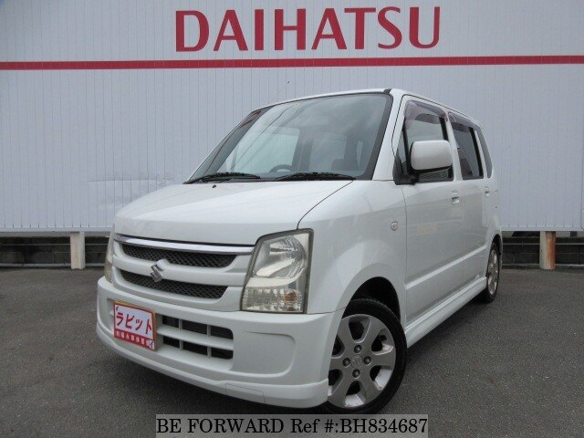 Used 2006 SUZUKI WAGON R BH834687 for Sale