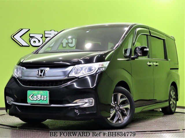Used 2017 HONDA STEP WGN BH834779 for Sale