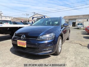 Used 2014 VOLKSWAGEN GOLF VARIANT BH834816 for Sale