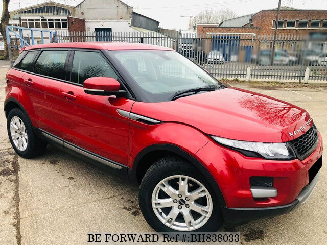 Used 2012 LAND ROVER RANGE ROVER EVOQUE BH838033 for Sale