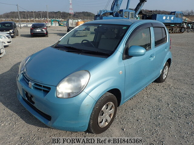 Used 2012 TOYOTA PASSO BH845368 for Sale