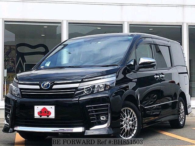 Used 2017 TOYOTA VOXY BH851503 for Sale