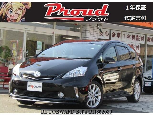 Used 2012 TOYOTA PRIUS ALPHA BH852030 for Sale