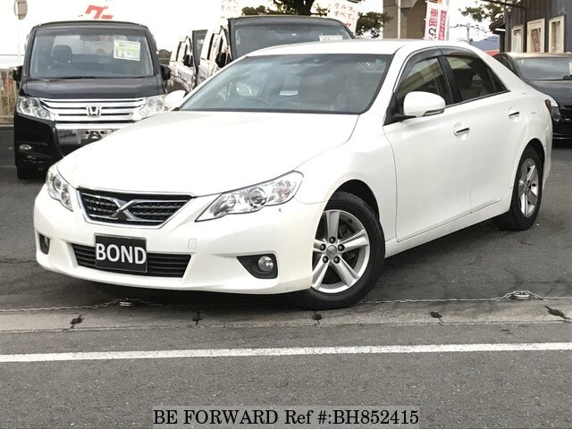 Used 2011 TOYOTA MARK X BH852415 for Sale