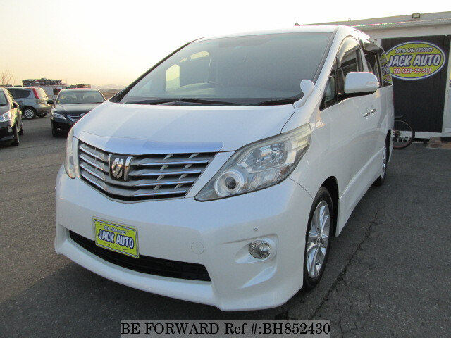 Used 2008 TOYOTA ALPHARD BH852430 for Sale