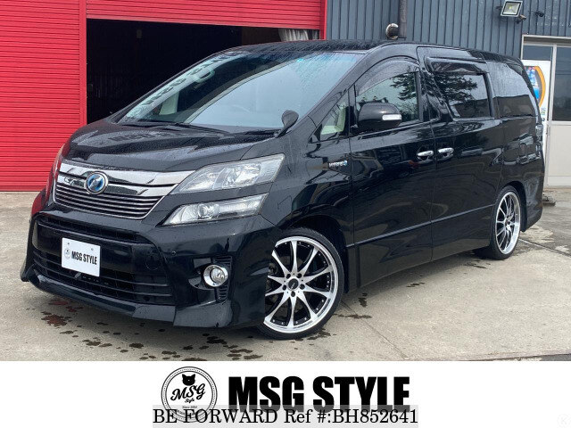 Used 2012 TOYOTA VELLFIRE HYBRID BH852641 for Sale