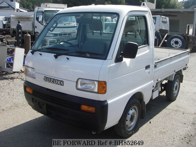 Used 1997 SUZUKI CARRY TRUCK BH852649 for Sale