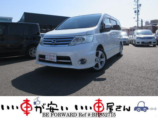 Used 2008 NISSAN SERENA BH852715 for Sale