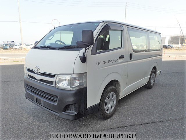 Used 2012 TOYOTA HIACE VAN BH853632 for Sale