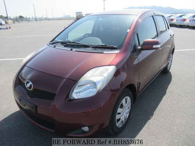 Used 2009 TOYOTA VITZ BH853676 for Sale