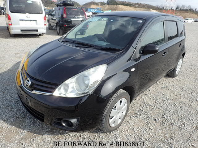 Used 2012 NISSAN NOTE BH856571 for Sale