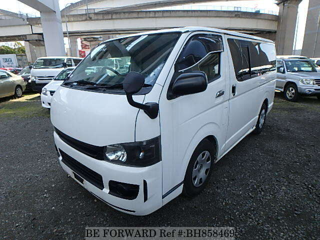 Used 2008 TOYOTA HIACE VAN BH858469 for Sale