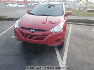 Used 2010 HYUNDAI TUCSON BH860194 for Sale