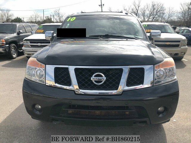 Used 2010 NISSAN ARMADA BH860215 for Sale
