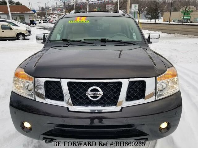 Used 2013 NISSAN ARMADA BH860265 for Sale