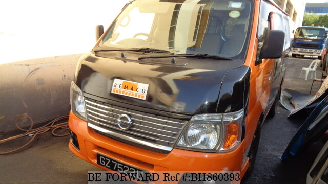 Used 2006 NISSAN URVAN BH860393 for Sale