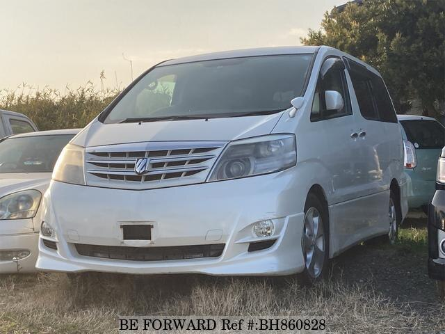 Used 2005 TOYOTA ALPHARD BH860828 for Sale