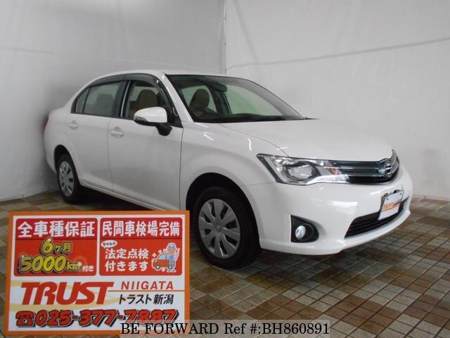 Used 2013 TOYOTA COROLLA AXIO BH860891 for Sale