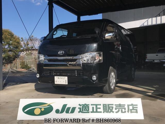 Used 2016 TOYOTA HIACE VAN BH860968 for Sale