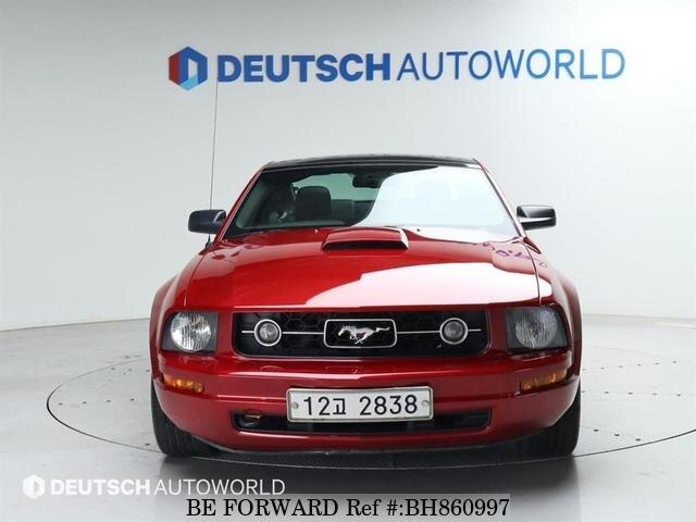 Used 2008 FORD MUSTANG BH860997 for Sale