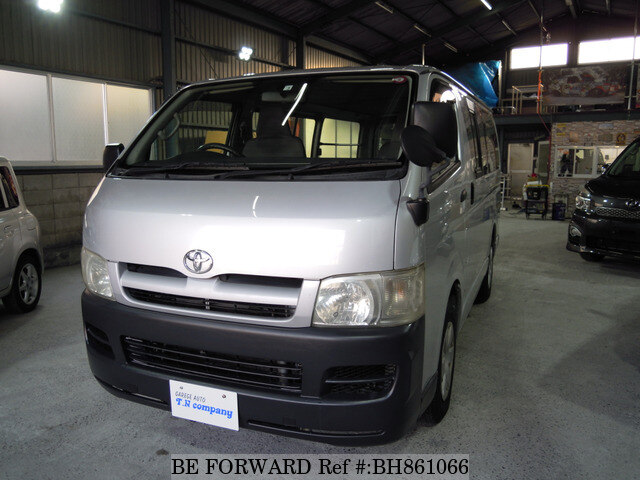 Used 2006 TOYOTA HIACE VAN BH861066 for Sale