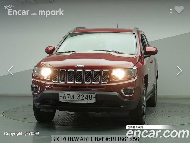 Used 2014 JEEP COMPASS BH861256 for Sale