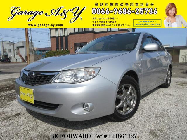 Used 2010 SUBARU IMPREZA ANESIS BH861327 for Sale
