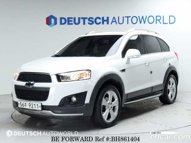 Used 2013 CHEVROLET CAPTIVA BH861404 for Sale