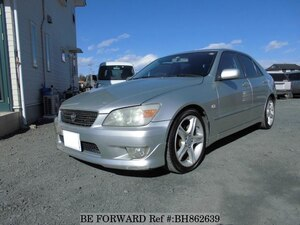 Used 2002 TOYOTA ALTEZZA BH862639 for Sale