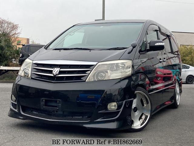 Used 2008 TOYOTA ALPHARD BH862669 for Sale