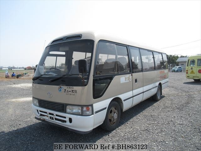 Used 2001 TOYOTA COASTER BH863123 for Sale